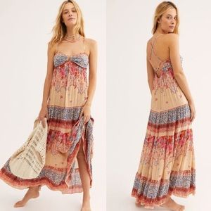 NWT Free People Give A Little Boho Maxi Dress NEW